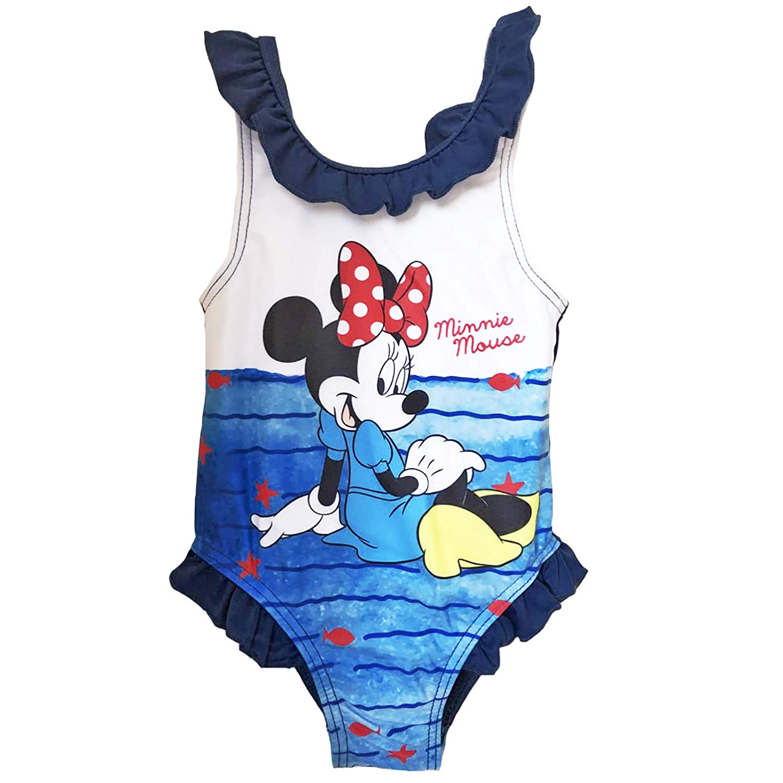 Minnie Costume da Bagno 12-18 24-36 Mesi Disney Estate 2019