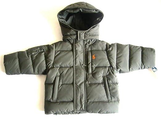 433a6da53 Amazon.com  Ralph Lauren New Boys Hooded Down Puffer Jacket Coat ...