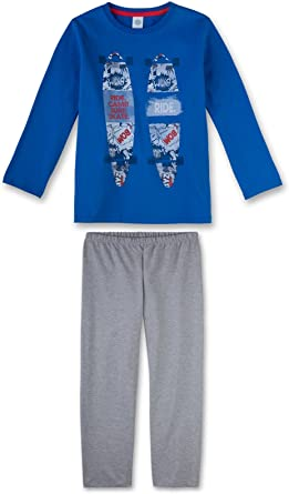 Sanetta Chicos Adolescentes Pijamas Set Largos de la Manga ...