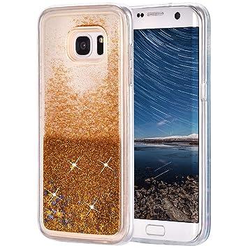 Galaxy S7 Edge Purpurina Funda, Galaxy S7 Edge Carcasa ...