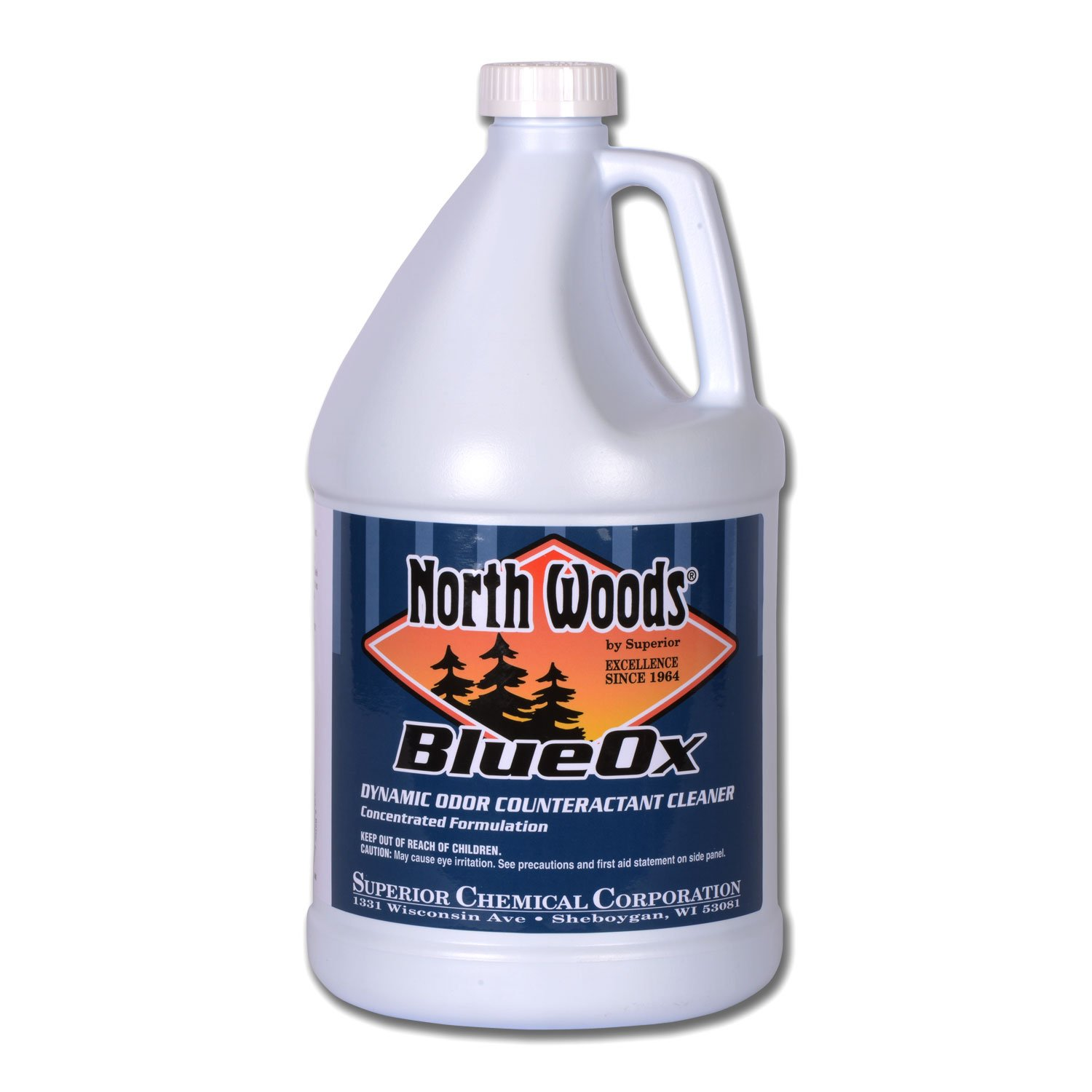 North Woods Blue Ox - Concentrare Cleaner & Odor Counteractant (Pack of 4)