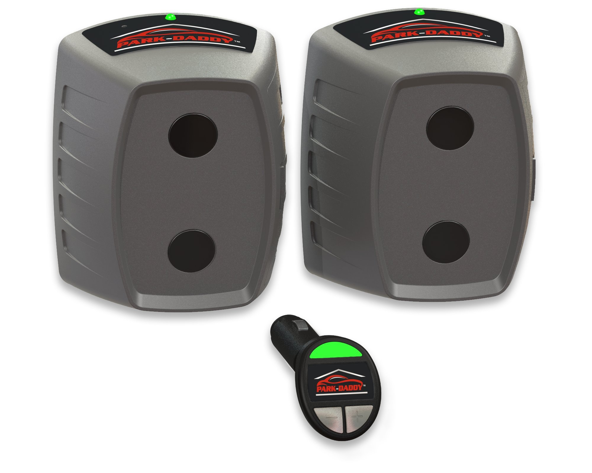 Park Daddy PDY-50-AA Single-Vehicle Precision Garage Parking Aid, Maximize the area in front of your vehicle. No Hard Wiring! No Harmful Lasers!