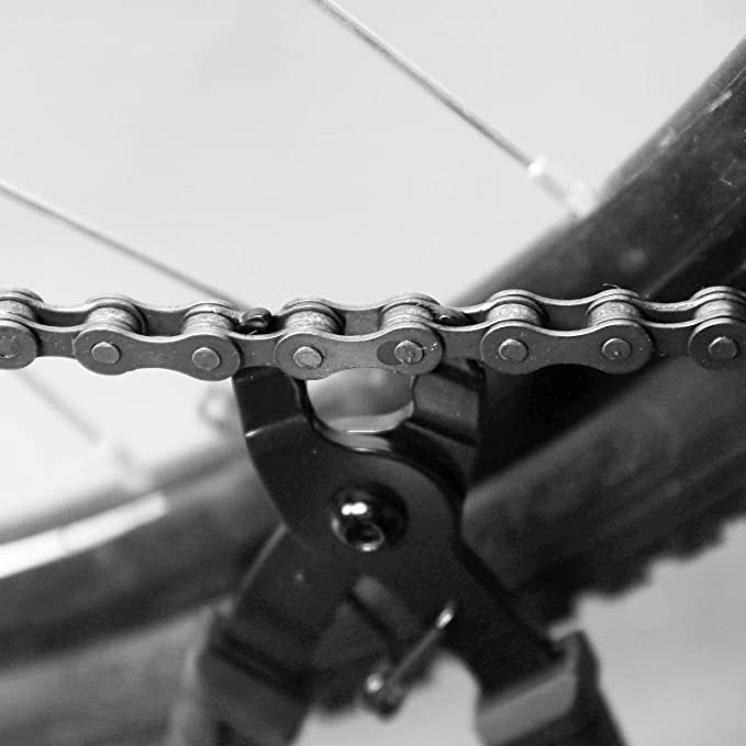 Divisor de Interruptor de Cadena QKURT Herramienta de la Cadena de Bicicletas 6 Pares Bicicleta Que Falta Enlace Kit de Herramientas de reparaci/ón de Cadenas de Bicicleta Profesional