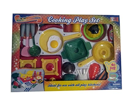 Kitchen Collection Cooking Play Set 40 Pieces