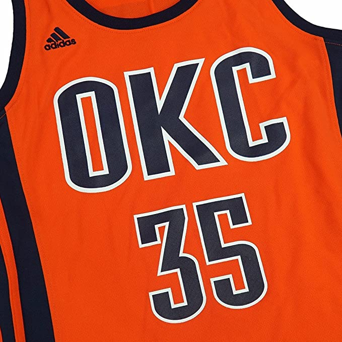 adidas Kevin Durant Oklahoma City Thunder NBA Naranja Oficial ...