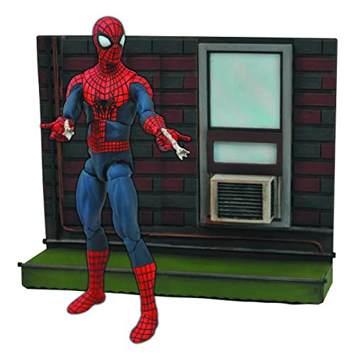 Marvel Select Amazing Spider-Man 2Action Figure avec base