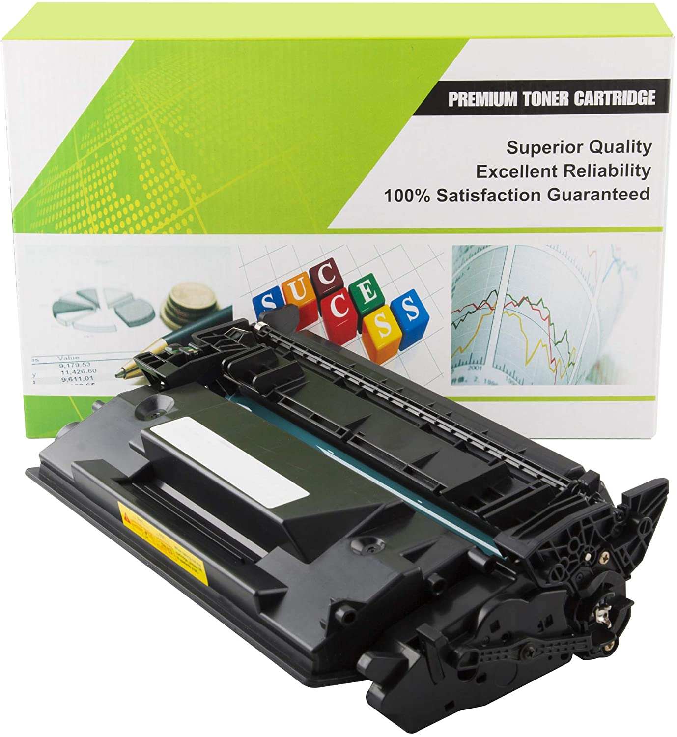 OfficePro 2k17 HP Ink Toner Cartridge CF226A Premium Laser Toner Cartridge | 100% Compatible with a Wide Range of HP Laserjet Pro Printers | High Yield - 9000 Pages | Black Ink | 1 Pack