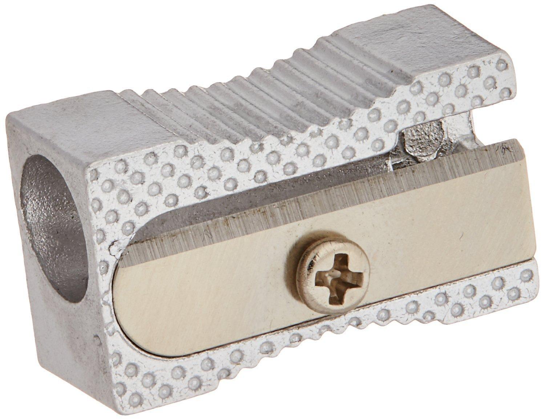 Integra Aluminum Pocket Sharpener, Steel, Silver (ITA42852) (10 Pack)