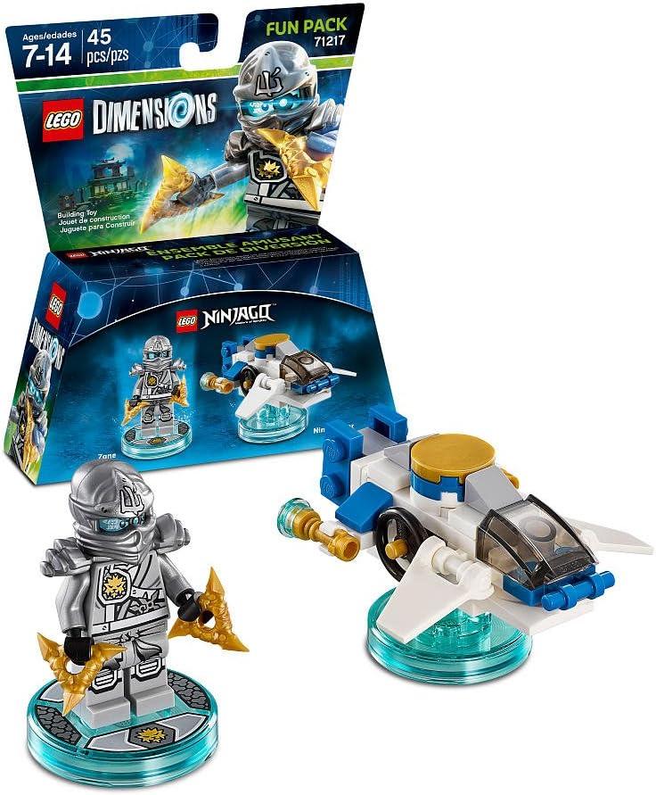 Amazon.com: LEGO Dimensions Ninjago Fun Pack 5 Piece Variety ...