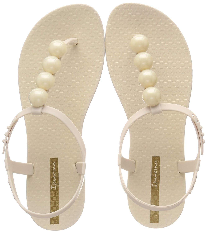16ef642b9ed4a7 Ipanema Damen Charm Vi Sand Fem T-Spangen Sandalen  Amazon.de  Schuhe    Handtaschen