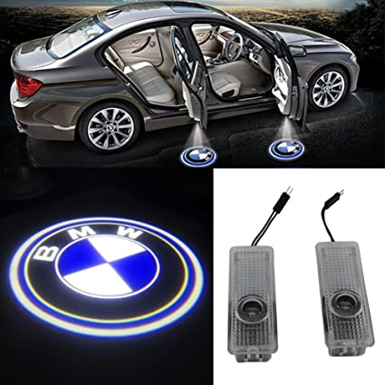 Grolish Easy Installation Car Door LED Logo Projector Cree LED Door Step Courtesy Light (for & Amazon.com: Grolish Easy Installation Car Door LED Logo Projector ...