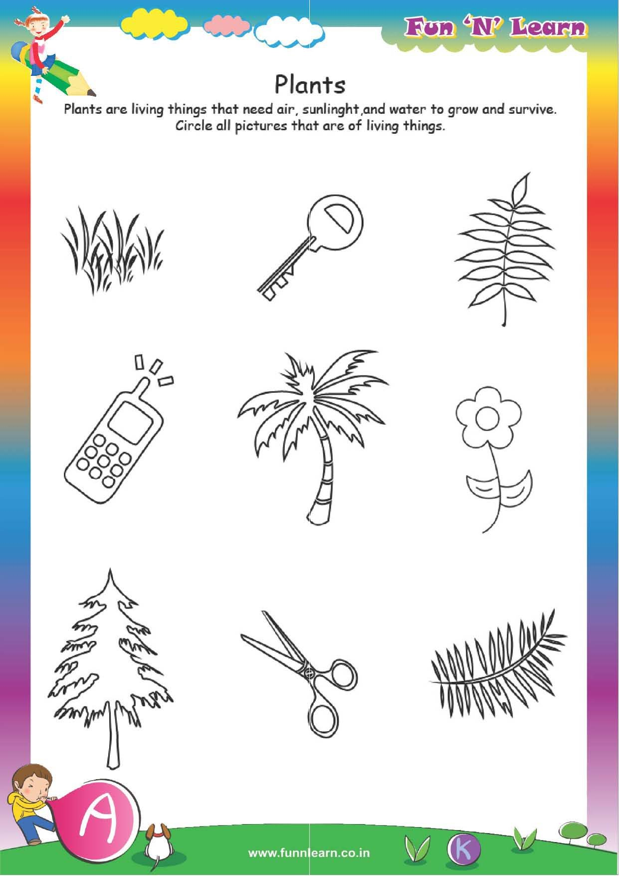 Buy Fun N Learn Worksheets - Grade Lkg / Jr. Kg (3 Months Bundled ...