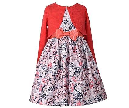 046582219 Amazon.com  Bonnie Jean Girls  Special Occasion Cardigan Dress Set ...