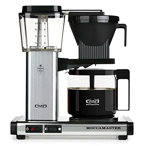 Amazon.com: Technivorm Moccamaster KBG741 - Cafetera de ...