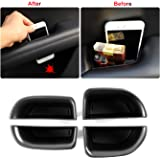 Cosilee 2pcs Front Side Door Armrest Storage Box Holder Glove Box Organizer For Ford Edge 2015 2016 2017