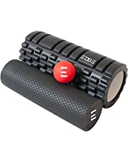 Edge Sports Complete Trigger Point Foam Roller Kit + Free Instructional Ebook Instant Myofacial Release through Muscle Massage