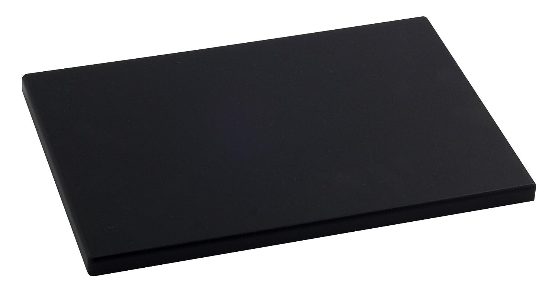 Compra Metaltex - Tabla de cocina, Polietileno, Negro, 33 x 23 x 1, 5 cm en Amazon.es