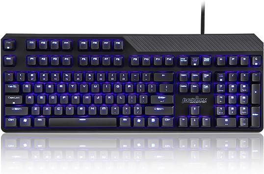 Perixx PX-5200 BR, Gaming retroiluminado Teclado mecánico ...