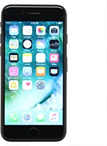 Apple iPhone 7, 128GB, Black - Fully Unlocked (Renewed)