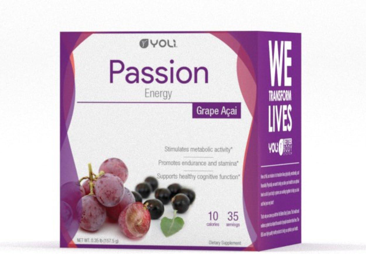 Yoli Passion Grape Acai Packets