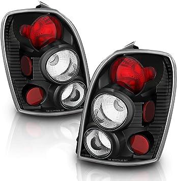 2002-2003 MAZDA PROTEGE-5 5 DR TAIL LIGHTS BLACK LAMPS