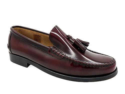Made Spain Loafer Schuhe Mit Slipper Echtleder Leder Sohle Elegante Business Futter Und Herren Klassische Genähter Marttely In Tassel uJKc53TlF1