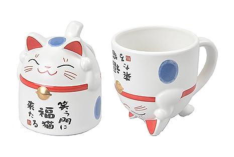 TOKYO design studio Estudio de diseño de Tokio Taza de Gato 8,5 x 9