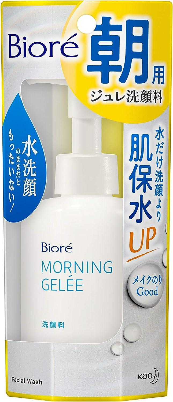 ビオレ 朝用ジュレ洗顔料 アクアフローラルの香り 100mlのサムネイル