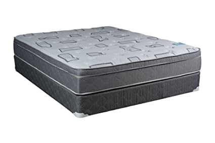 Amazoncom Dreamy Rest Pillow Top Euro Top King Size Mattress And