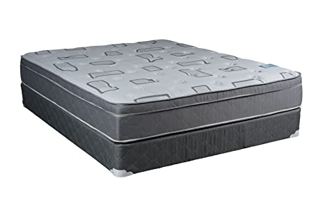 dreamy rest pillow top euro top king size mattress and box spring set