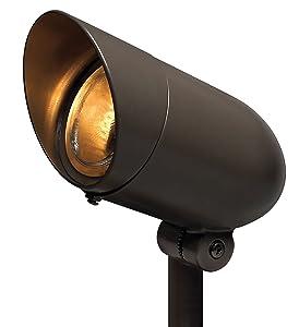 Hinkley 54000BZ Landscape Line Voltage Spot Light, Small Bronze
