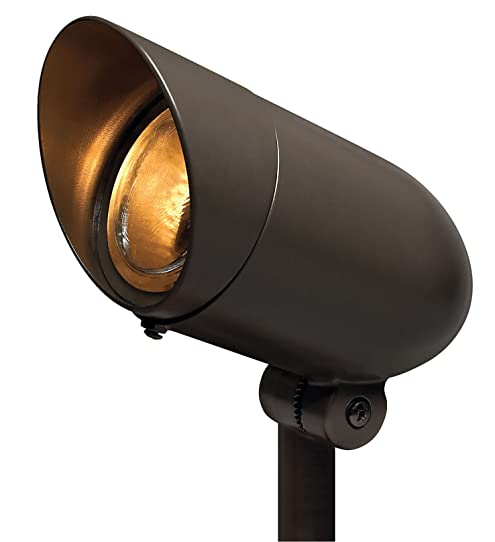 Hinkley Lighting 54000BZ LED60 8.5 Inch LED Outdoor Landscape Flood Lamp,  Bronze Finish