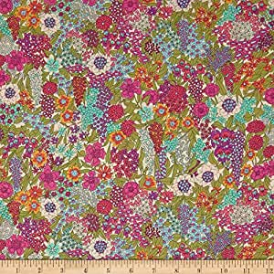Liberty Fabrics 0548392 Tana Lawn Ciara Purple Yard