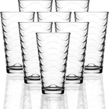 Circleware Highball Drinking Glasses
