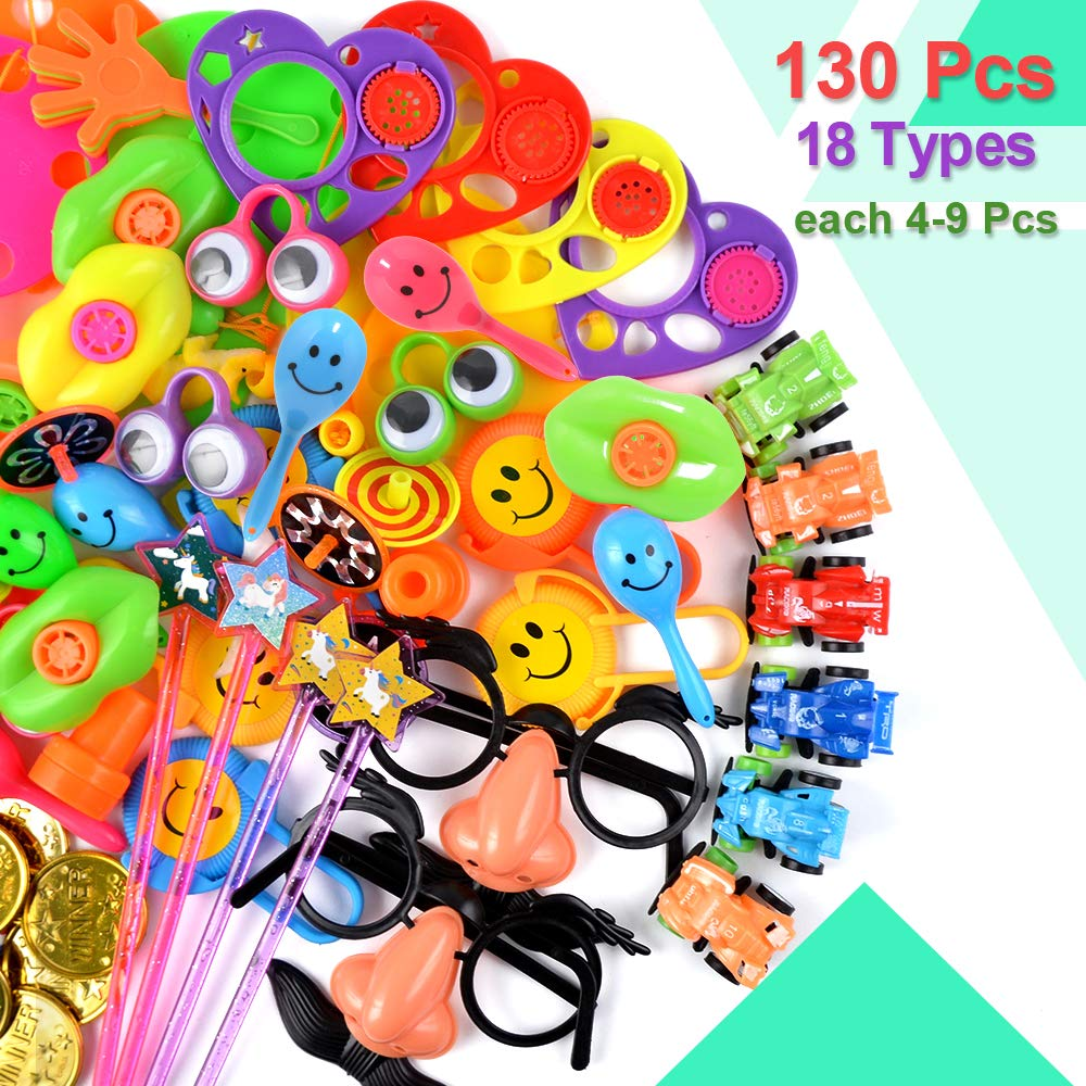 Amazon.com: BUDI 130 unidades de recuerdos de fiesta para ...