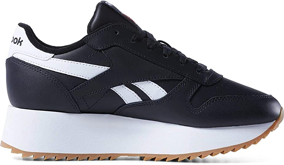 Primal Red Sneaker Schuhe White Reebok Classic Leather Double Black