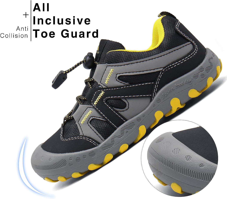Mishansha Zapatos de Senderismo Ni/ño Verano Zapatillas de Deporte Exteriores C/ómodo