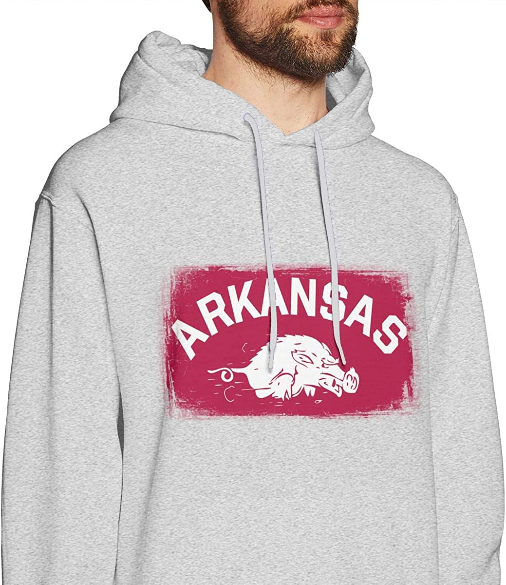 HelplesS Arkansas Cool Mens Hat and Pocketless Sweater Black