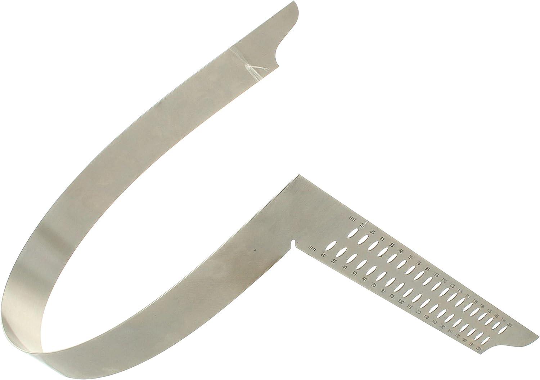 Hedue V060 /Équerre de charpentier ZV 600 mm avec /échelle mm Type A