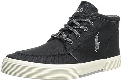 Polo Ralph Lauren Men's Federico Fashion Sneaker,Dark Carbon Grey,17 ...