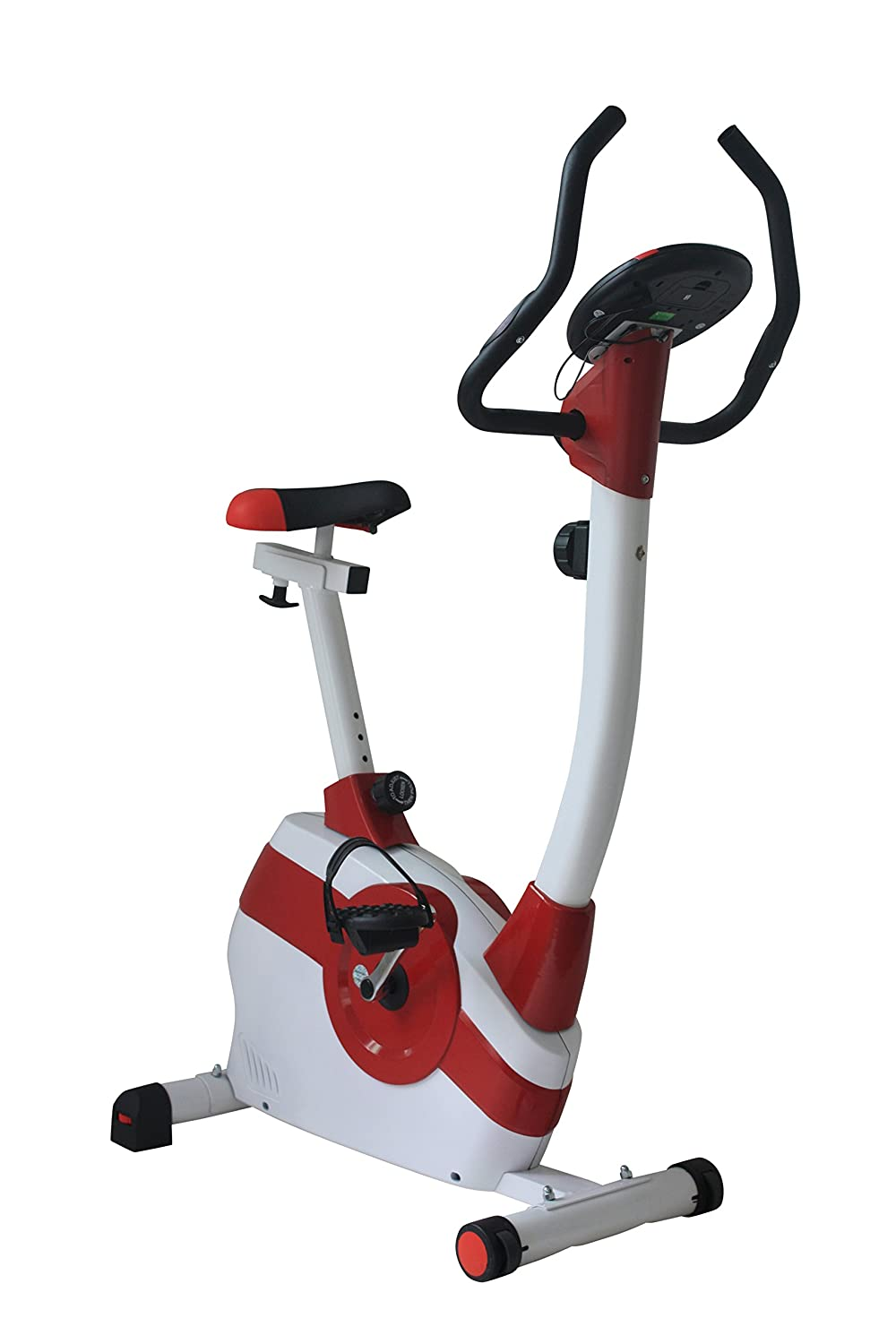 Olympic ES-8401 Magnetic Belt Bike - red/white Fit4Home