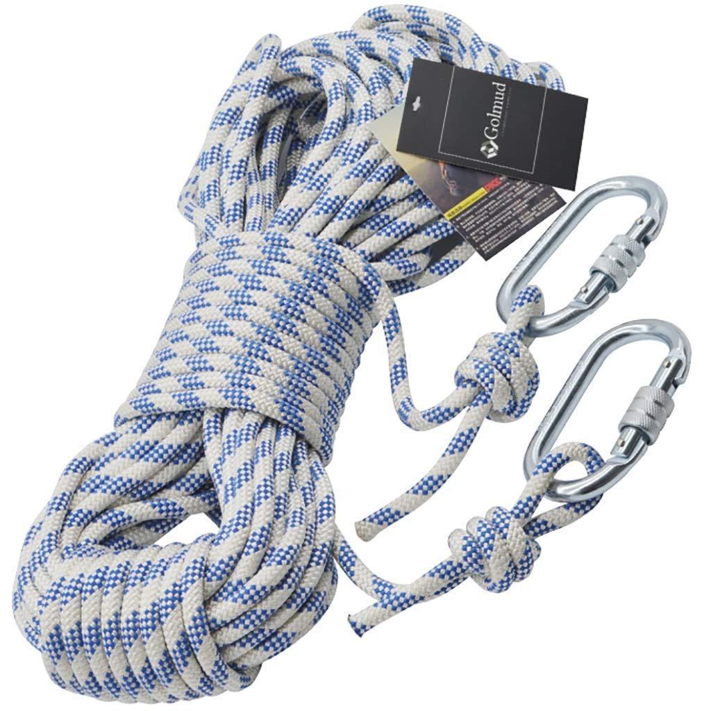 - SCJ Cordes Corde d'escalade extérieure, Corde de sécurité de 8 mm, Corde de Rappel, Corde d'escalade, équipement d'évacuation de Corde de Nylon, 80m   70m   60m   50m   40m   30m   20m   10m (ta 8mm-20m