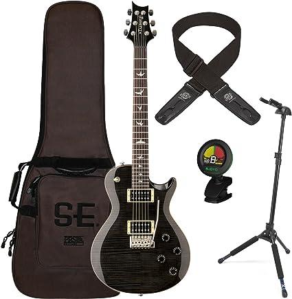 PRS Guitars Mark Tremonti Custom gris negro guitarra eléctrica w ...