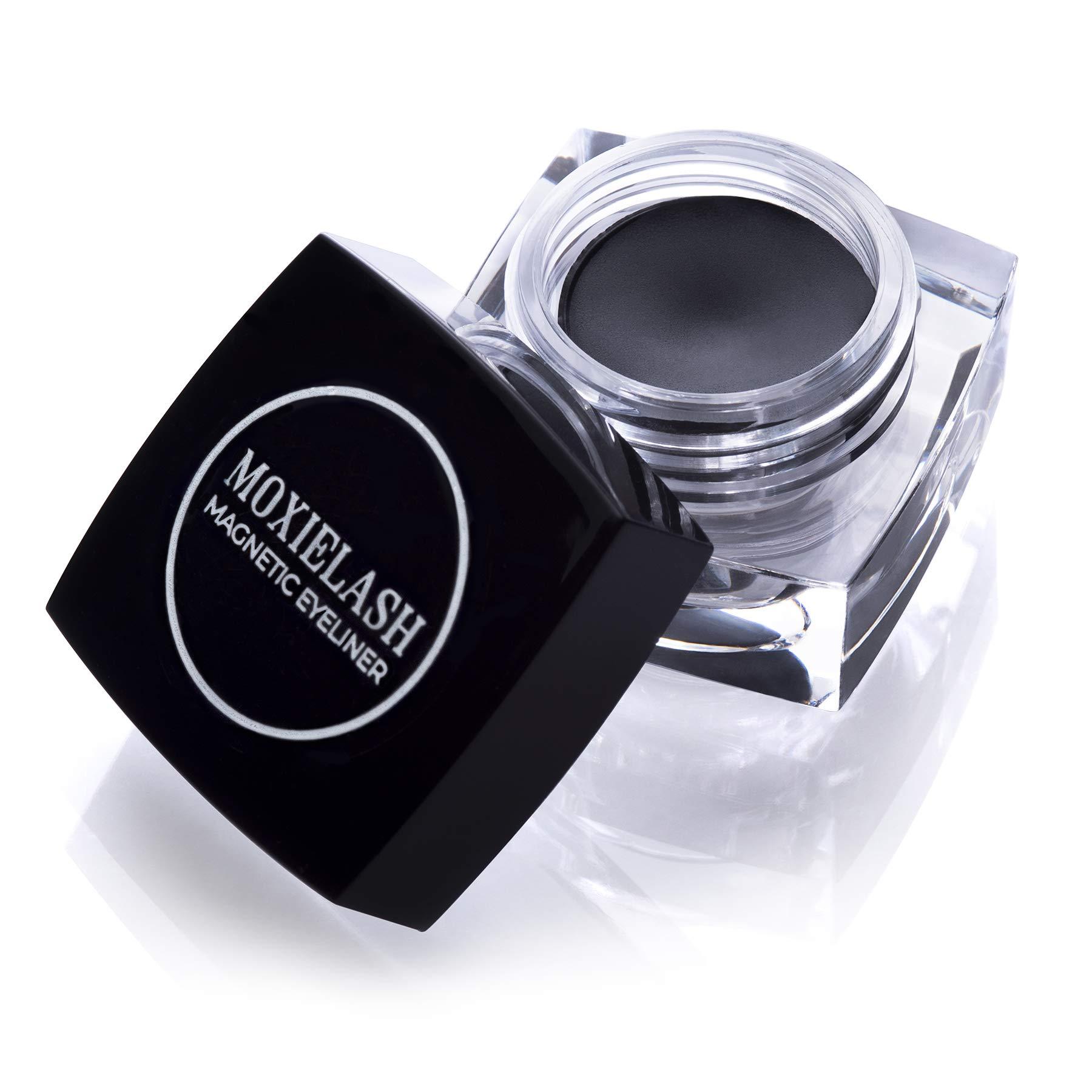 MoxieLash Magnetic Gel Eyeliner for Magnetic Eyelashes - No Glue & Mess Free - Fast & Easy Application