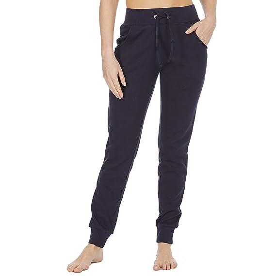 e6792057f2ff COTTONIQUE - Pantalones de chándal de algodón para Mujer