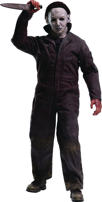 threezero Halloween 6: La Maldición de Michael Myers de la película 1: 6 Escala Figura de acción: Amazon.es: Juguetes y juegos