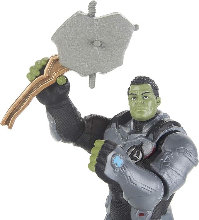 Amazon.com: Avengers Marvel Endgame Team Suit Hulk Figura de ...