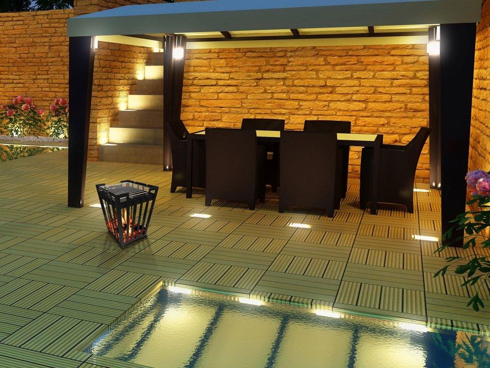 PURLINE Brasero Exterior De Leña Con Parrilla De Barbacoa EFP1: Amazon.es: Jardín