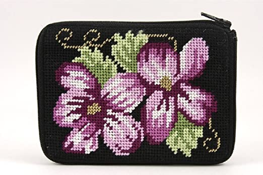 Stitch & Cremallera Monedero Needlepoint - Kit sz141 ...