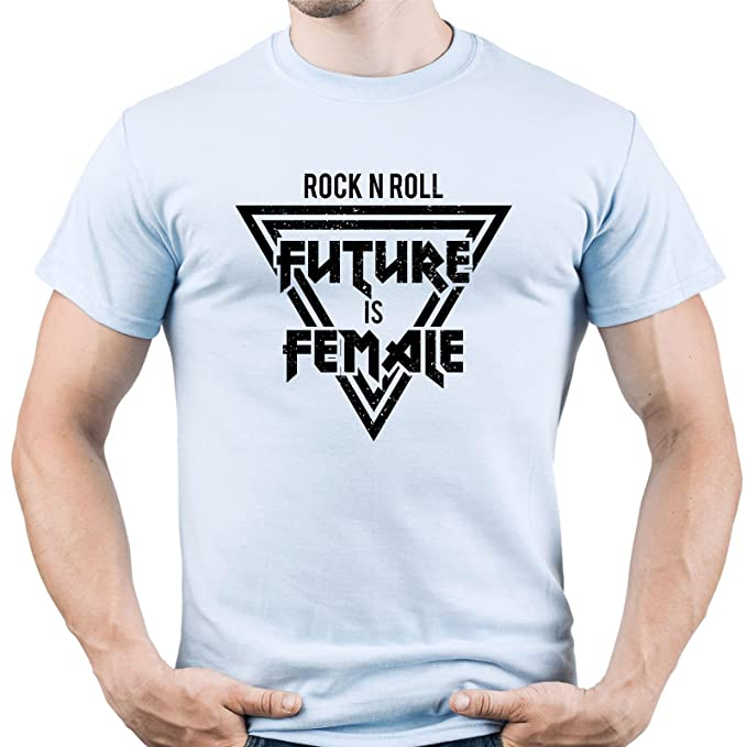 Rock Future Music Roll Tshirt Tee Is Female Star N Shirt T e29EIWDHY